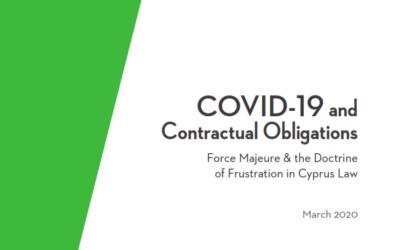Covid 19 – Contractual Obligations