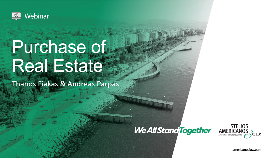 Purchase of Real Estate in Cyprus