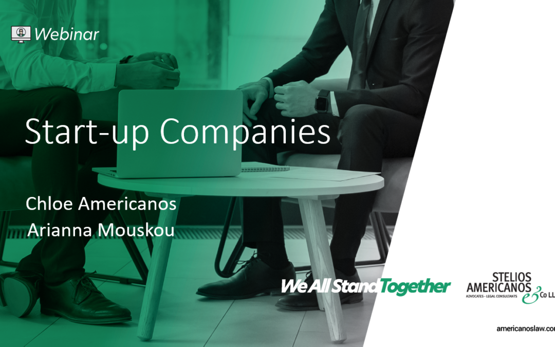 Start-up Companies in Cyprus