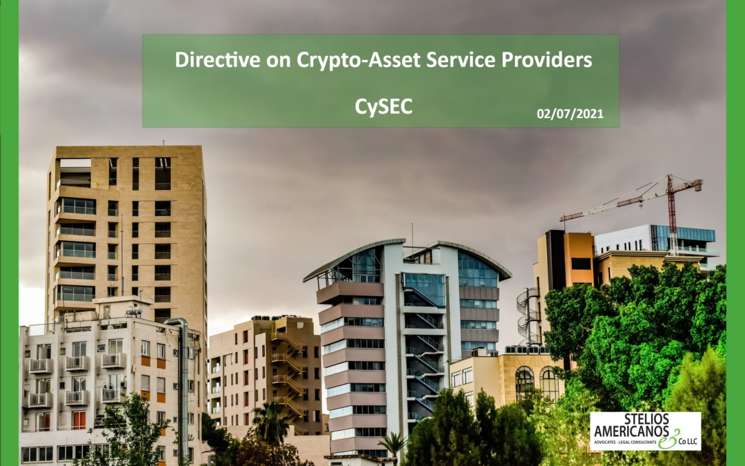 Crypto-Asset Service Providers CySEC's June directive